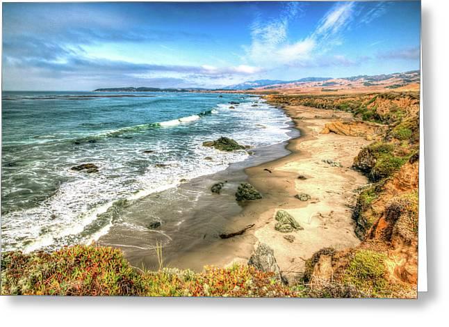 California's Central Coastline Greeting Card