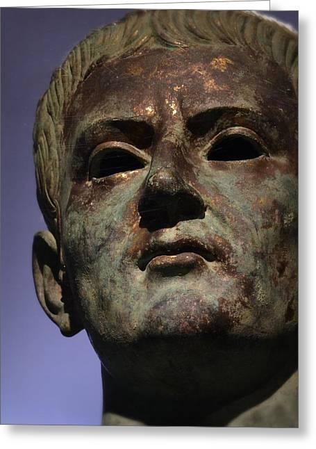 Caligula Greeting Card by Nadalyn Larsen