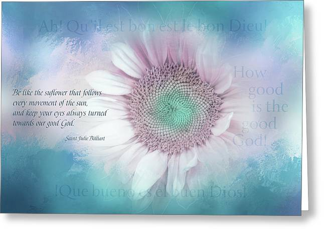 Call To Goodness Greeting Card