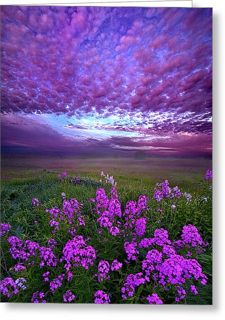 Call To Me And I Will Answer You Greeting Card by Phil Koch