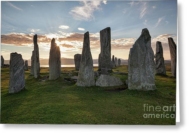 Callanish, Isle Of Lewis IIi Greeting Card by Colin and Linda McKie