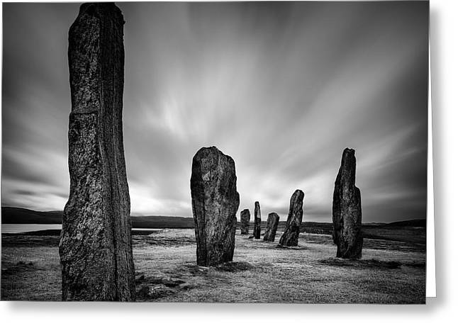 Callanish Stones 2 Greeting Card by Dave Bowman