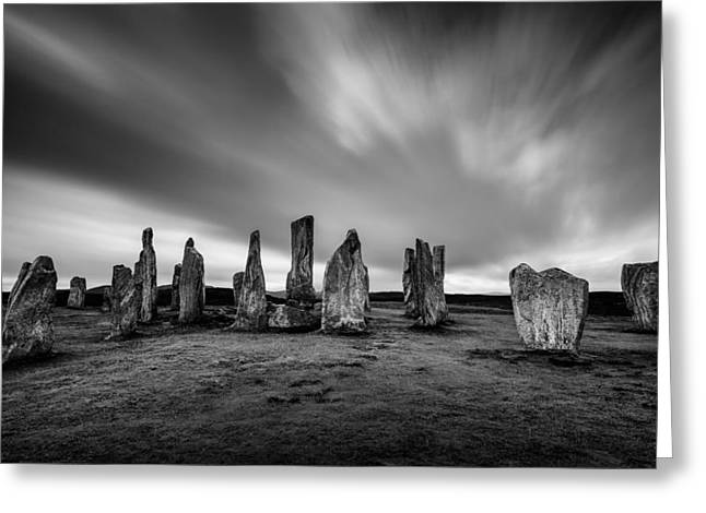 Callanish Stones 1 Greeting Card by Dave Bowman