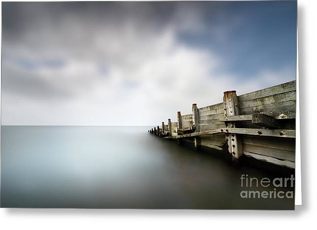 Calm 2 Greeting Card by Rod McLean