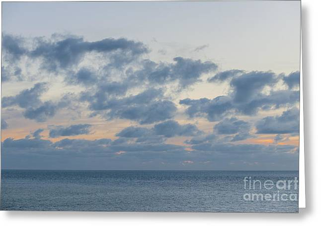 Calm After Sunset Greeting Card by Elena Elisseeva