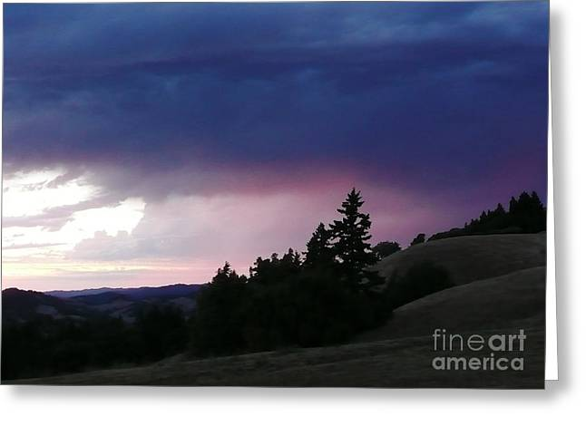 Calm Before The Really Big Storm Greeting Card by JoAnn SkyWatcher