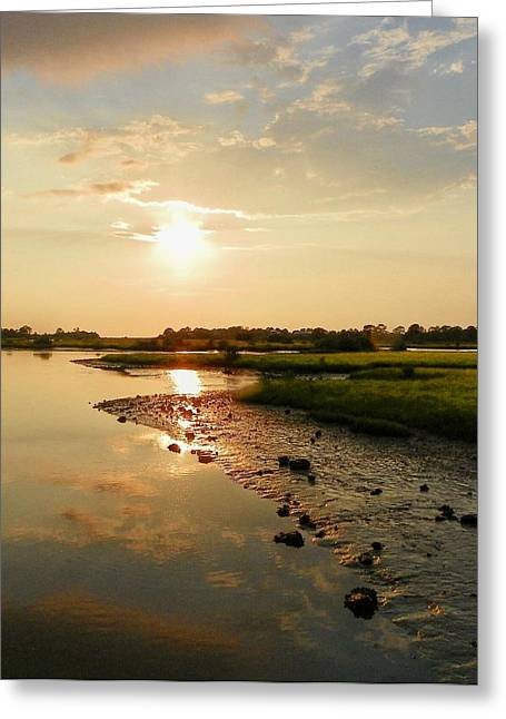 Calm Before The Storm Greeting Card by Sheri McLeroy
