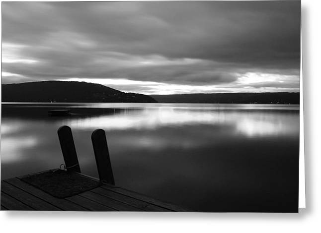 Calm Before The Storm Greeting Card by Steven Ainsworth