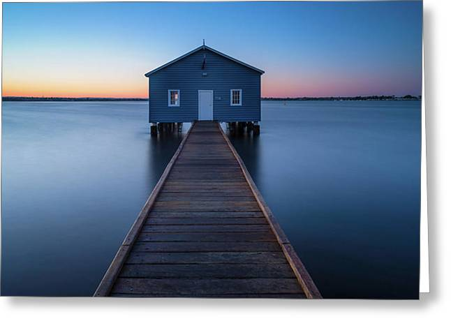 Calm Morning Greeting Card by Hafiz Ismail