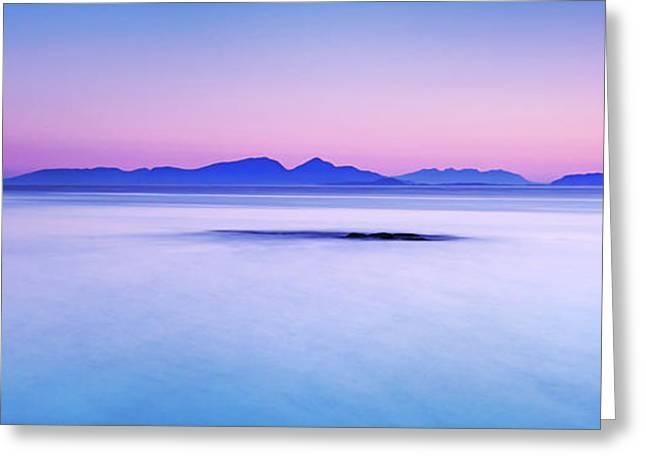 Calm Sunrise Port Na Ba Greeting Card
