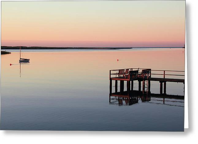 Calm Waters Greeting Card by Roupen  Baker