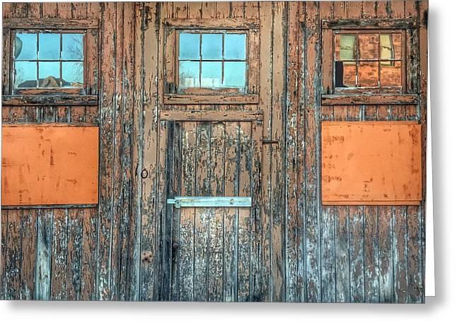 Calumet- Lost History Through The Doors Greeting Card by Scott Wendt Tom Wierciak