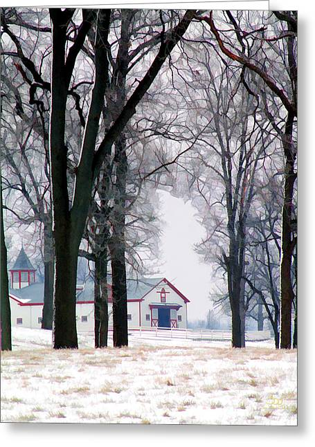 Calumet Winter Greeting Card