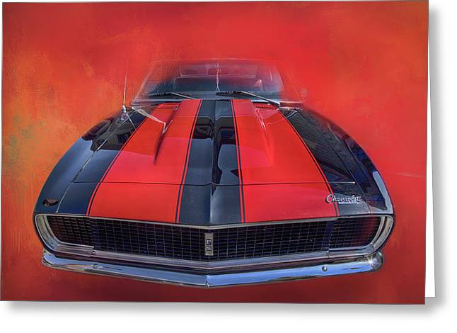 Camaro - Forged By Fire Greeting Card by Theresa Tahara