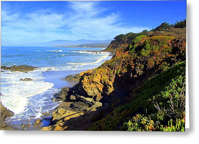 Cambria By The Sea Greeting Card