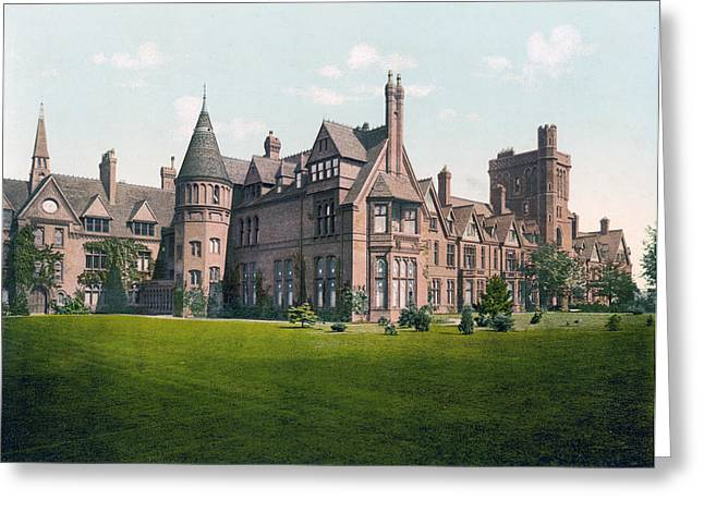 Cambridge - England - Girton College Greeting Card