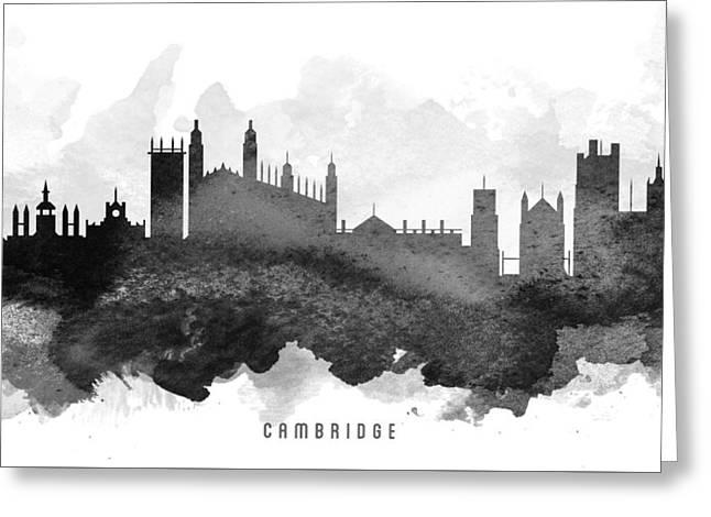Cambridge Cityscape 11 Greeting Card