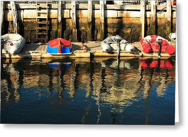 Camden Boats Greeting Card
