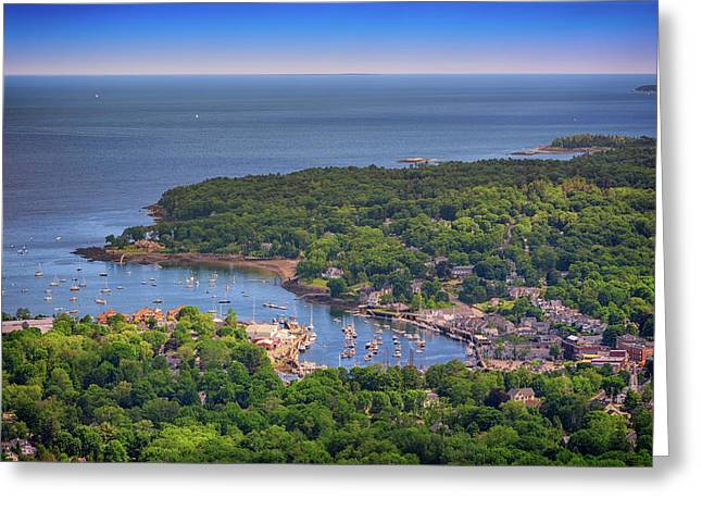Camden Harbor Greeting Card