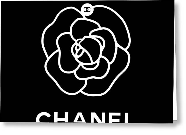 Camellia Chanel Greeting Card