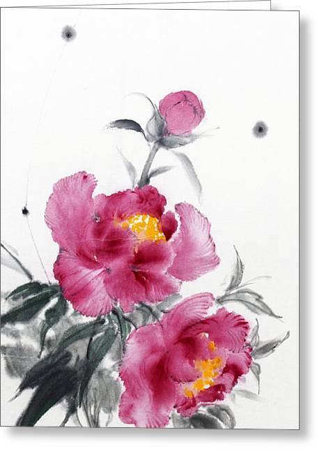Camellia / Tsubaki Greeting Card