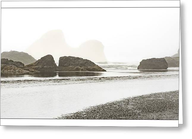 Camel Rock From Moonstone Beach Greeting Card