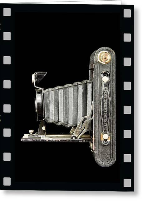 Camera Close Up-5 Greeting Card