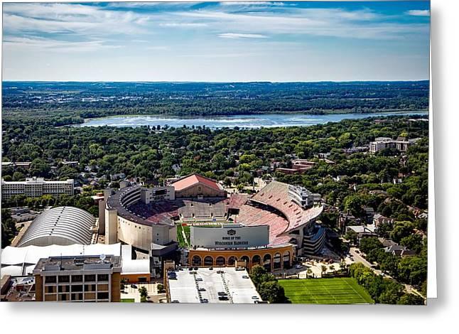 Camp Randall Stadium - Madison Wisconsin Greeting Card