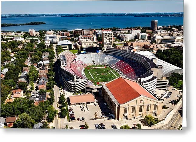 Camp Randall Stadium - University Of Wisconsin Greeting Card