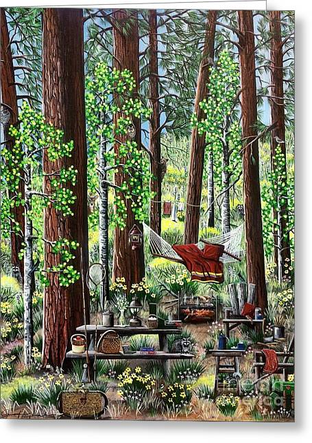 Camping Paradise Greeting Card