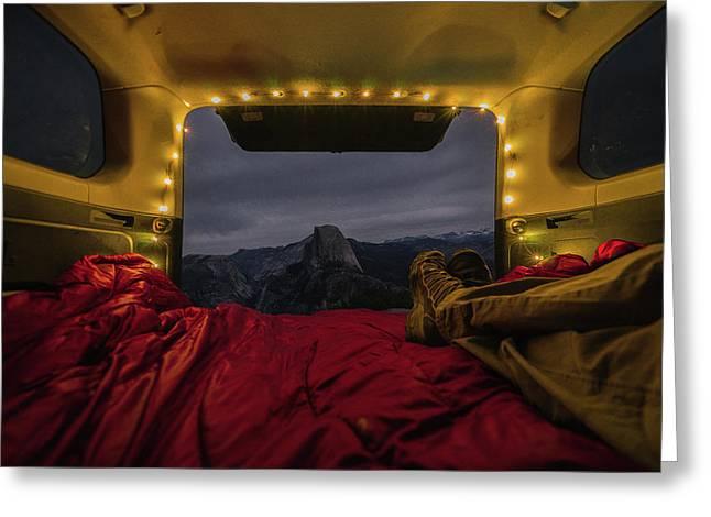 Camping Views Greeting Card