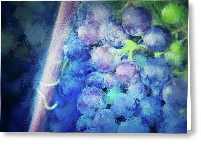 Campos Grapes Greeting Card