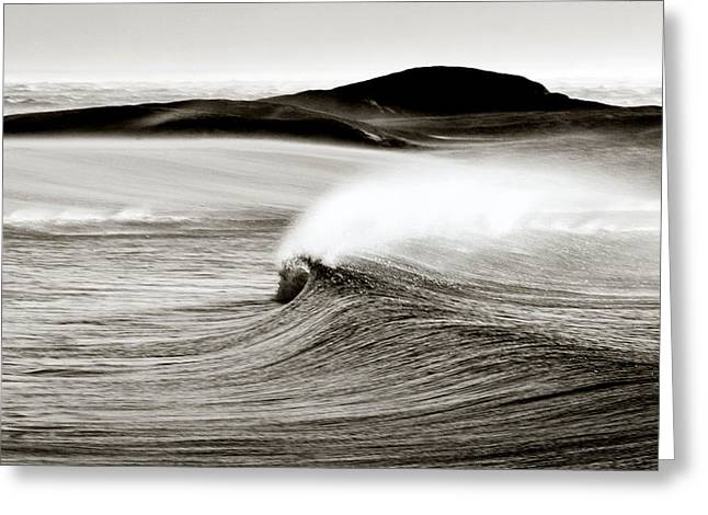 Camps Bay Wave Greeting Card by Tim Booth