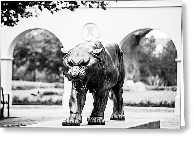 Campus Icon - Bw Greeting Card