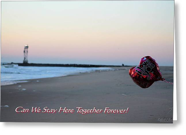Can We Stay Here... Greeting Card