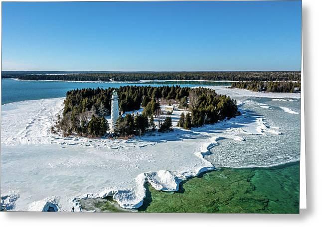 Greeting Card featuring the photograph Cana Island by Randy Scherkenbach