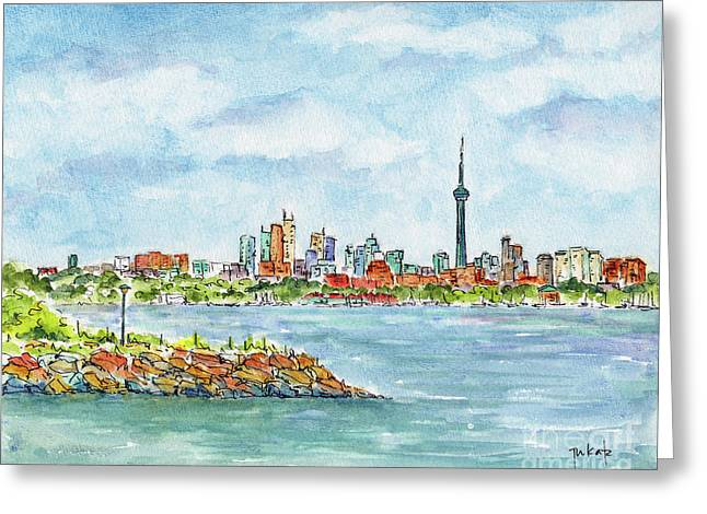 Canada 150 Ontario Greeting Card