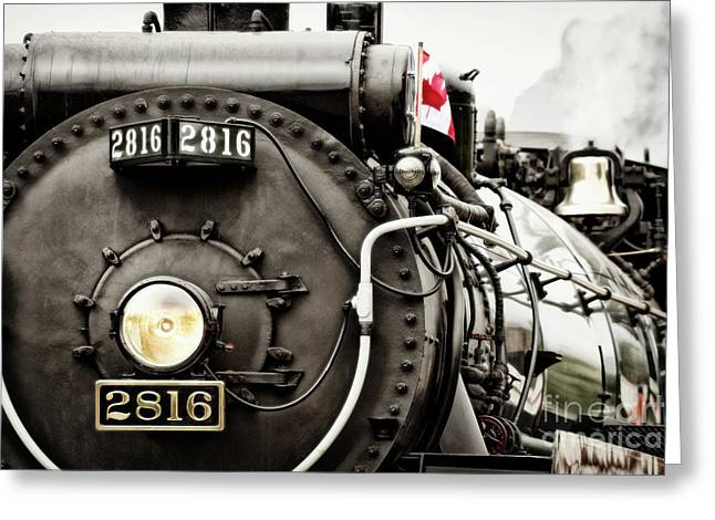 Greeting Card featuring the photograph Canada Day by Brad Allen Fine Art