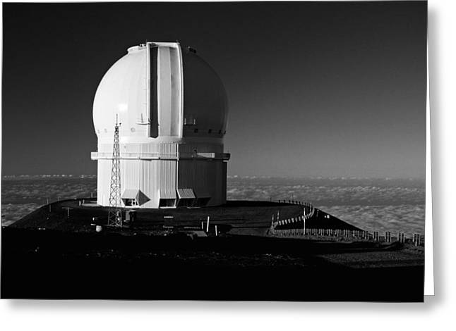 Canada France Hawaii Telescope 1 Greeting Card by Gary Cloud