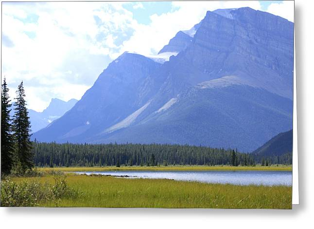 Canadian Mountains Greeting Card