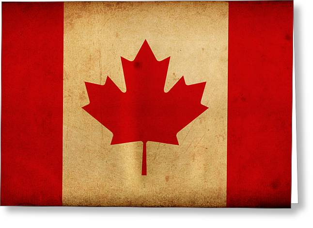Canada Greeting Card by NicoWriter