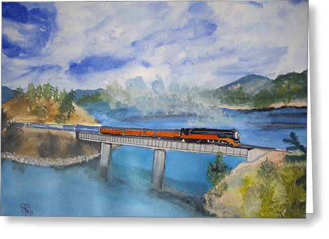 Canada Railway Greeting Card