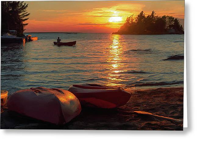 Canadian Cottage Life Greeting Card