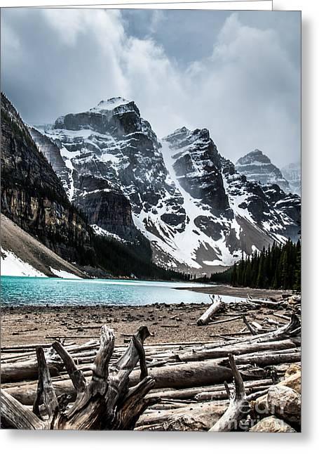 Canadian Rockies Greeting Card