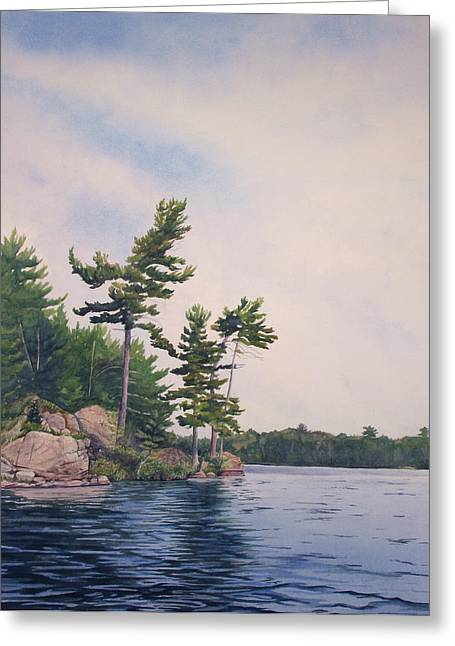 Canadian Shield Sculpture No. 2 Greeting Card