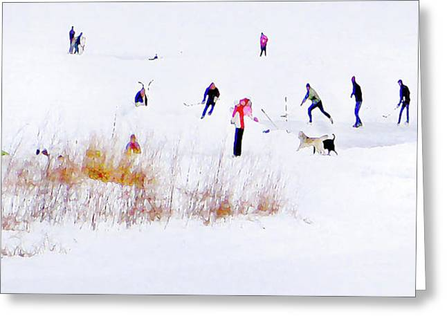 Greeting Card featuring the photograph Canadiana by John Poon