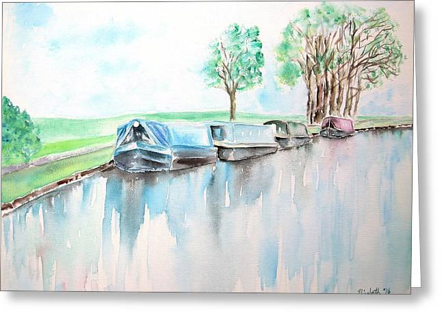Canal Journey Greeting Card