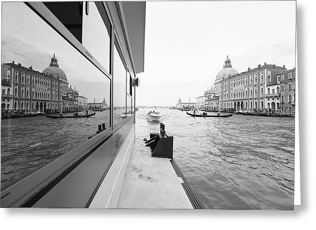Canale Riflesso Greeting Card by Marco Missiaja