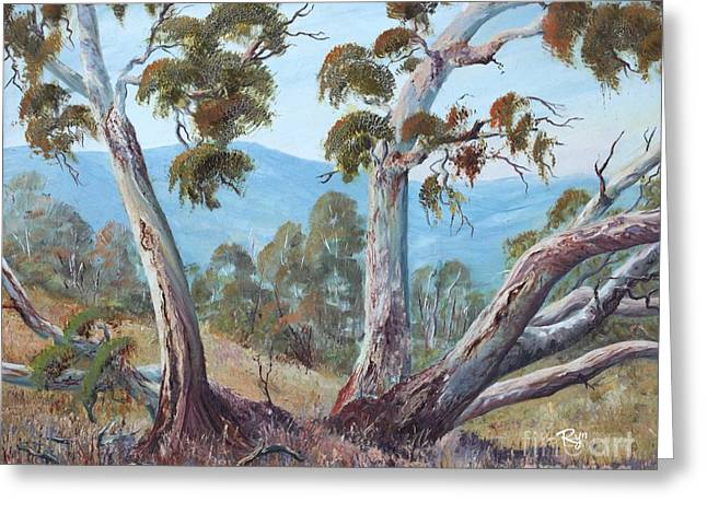 Canberra Hills Greeting Card