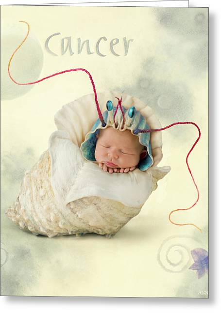 Cancer Greeting Card by Anne Geddes